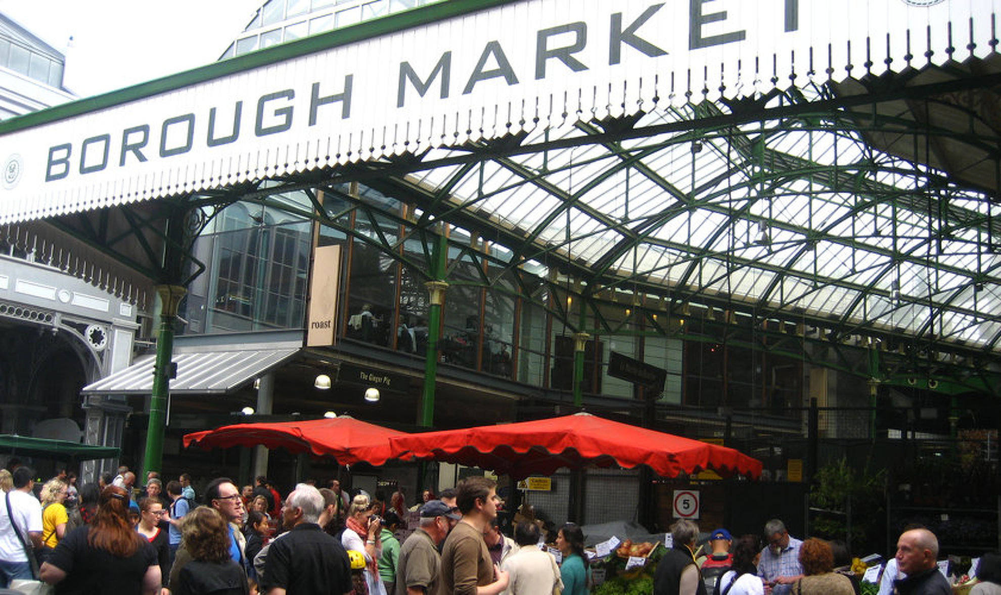 Explore Borough Market