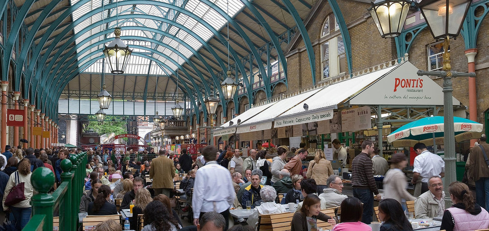 Explore Covent garden
