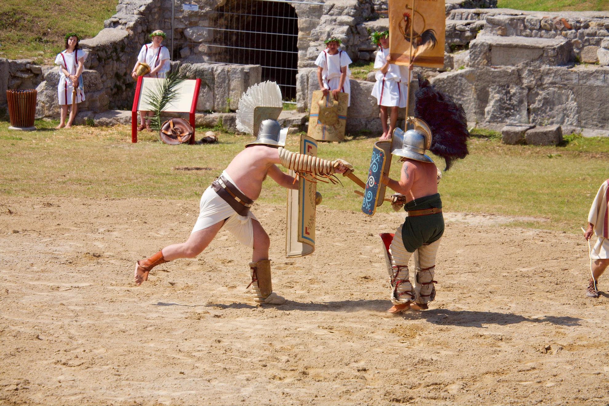 Explore Roman Gladiator Course