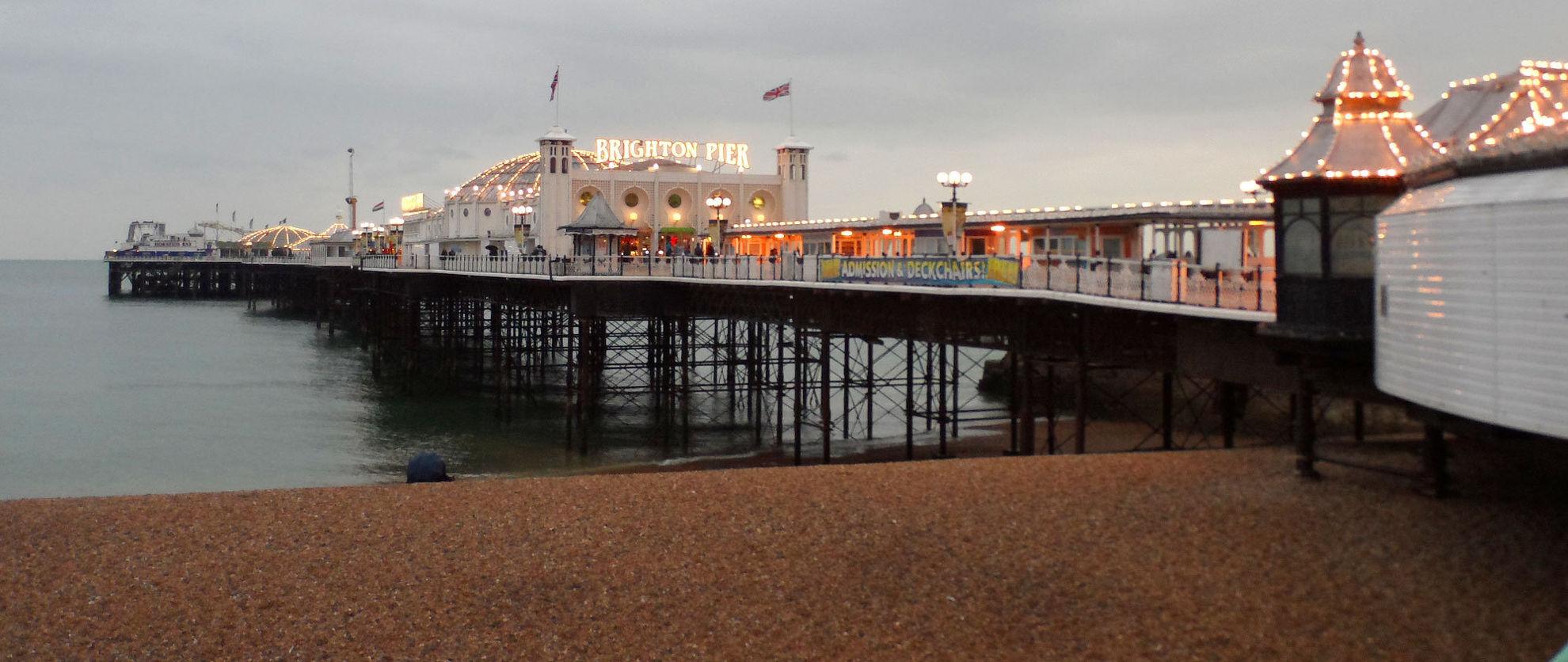 Explore Brighton Pier