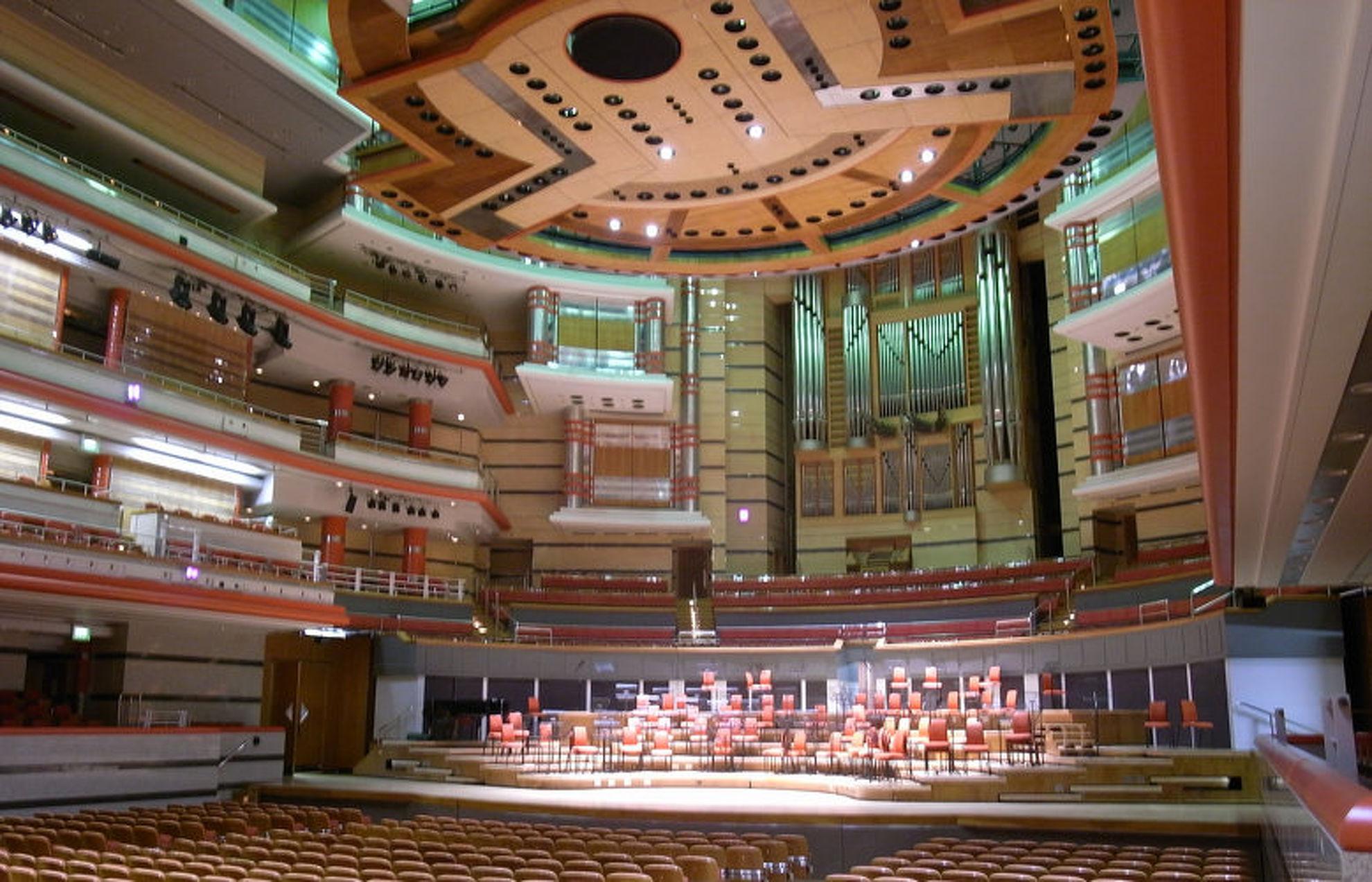 Explore Birmingham Symphony Hall