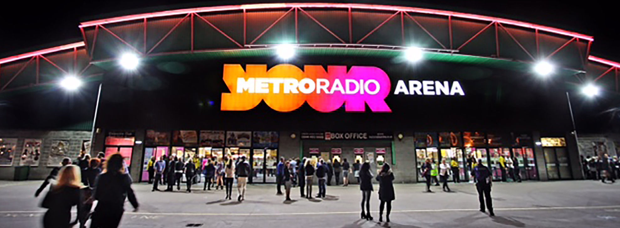 Explore Metroradio Arena