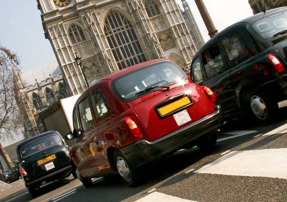 London taxis _ iStock_000003121519_cropped