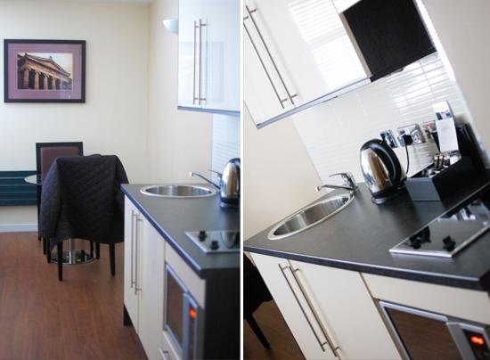 Fraser Suites, Albion Street, Glasgow - kitchen
