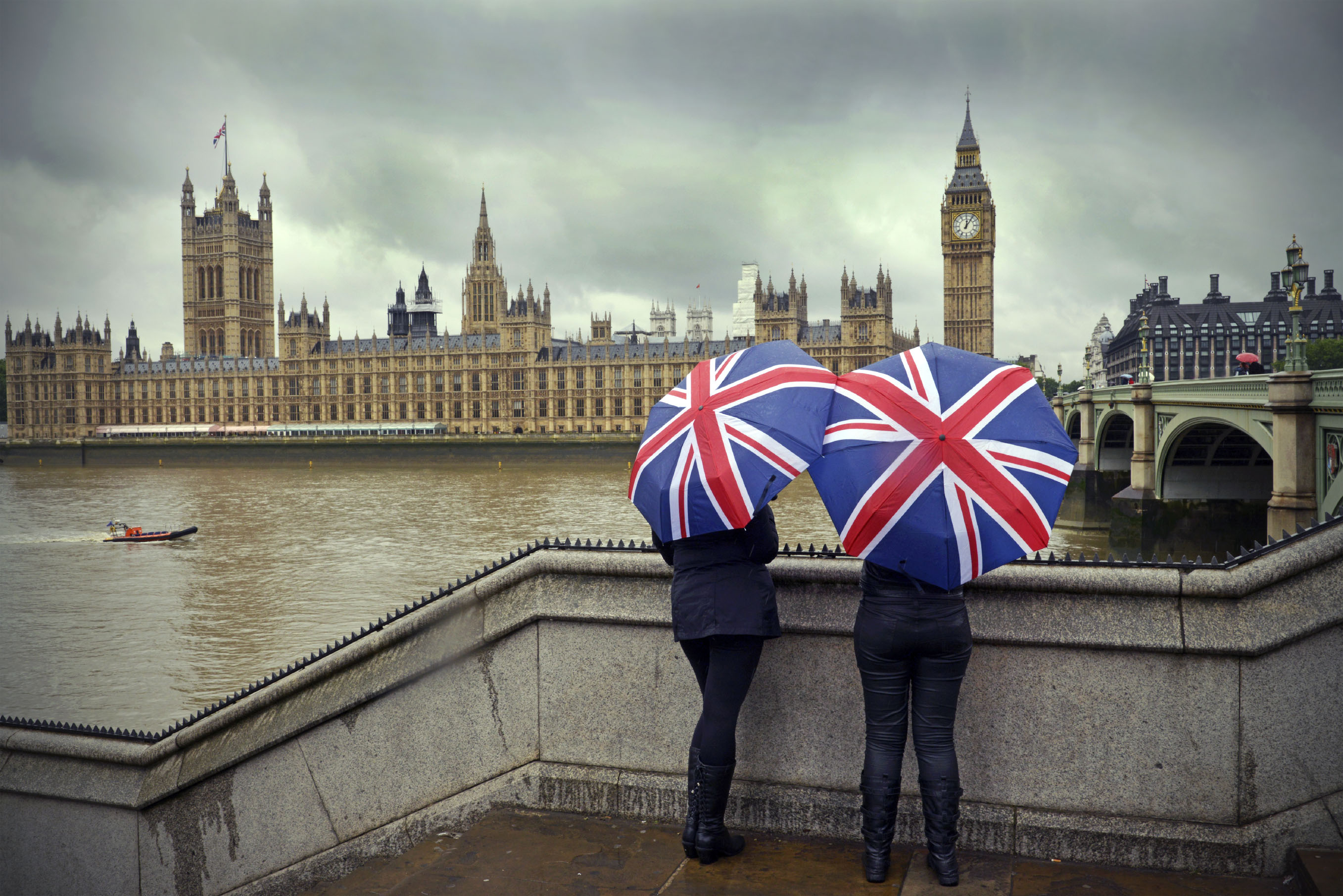 london rain Stock photo ID25512576