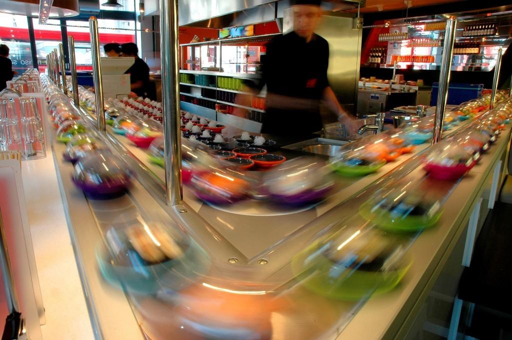 YO! Sushi Corner Kaiten Belt | The 10 Best Places to Dine Solo