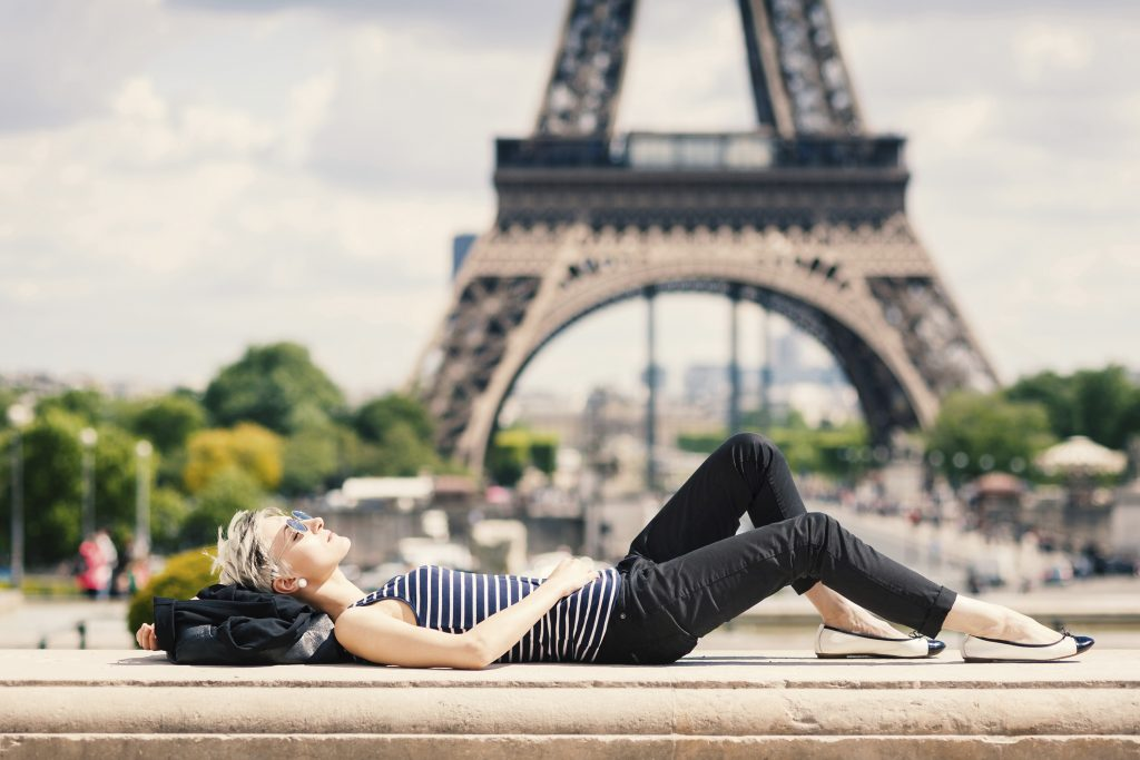 Eiffel Tower Solo Travelling