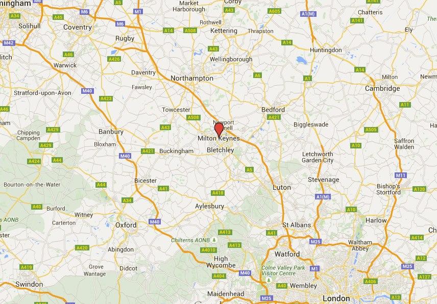 Milton Keynes Location