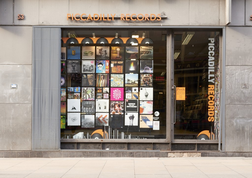 Picadillyr Records store in Manchester