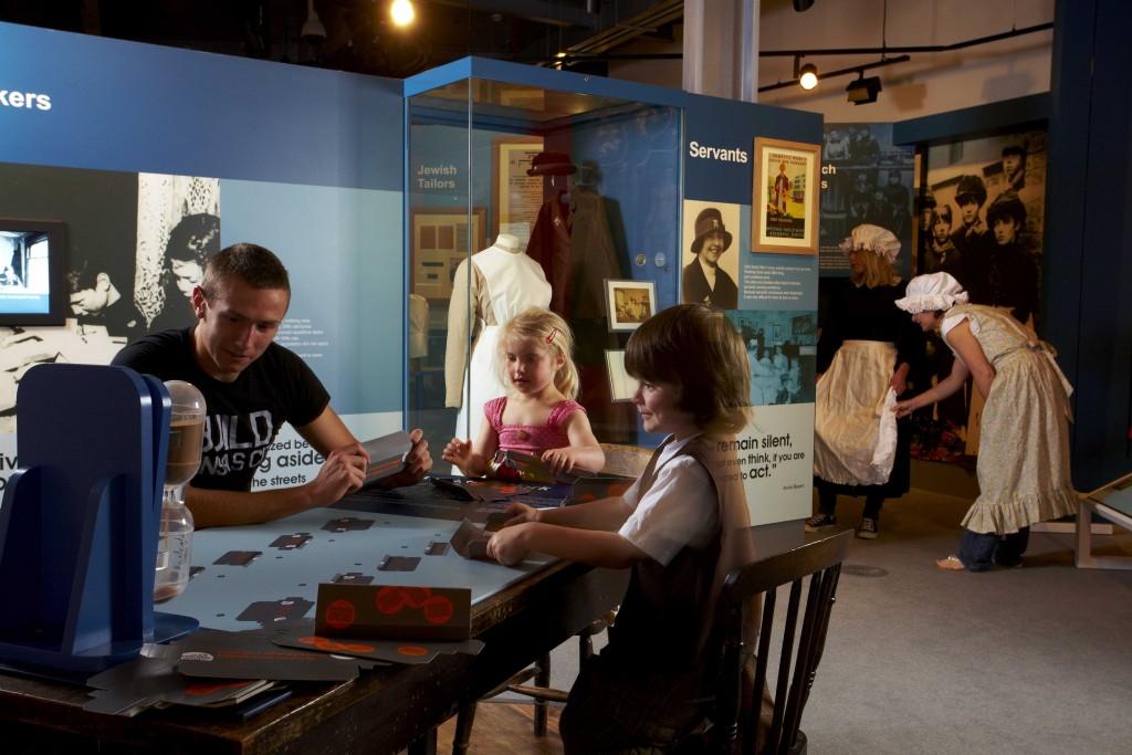 Children activity in People's History Museum