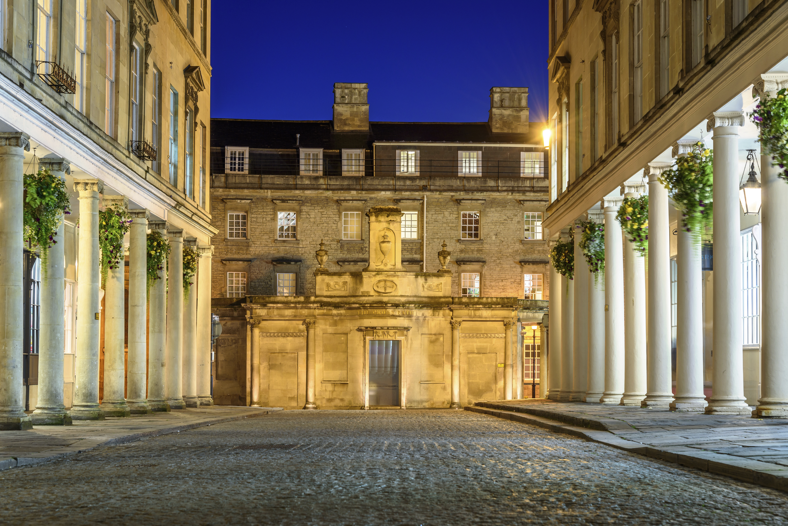 Cobbled streets of Bath