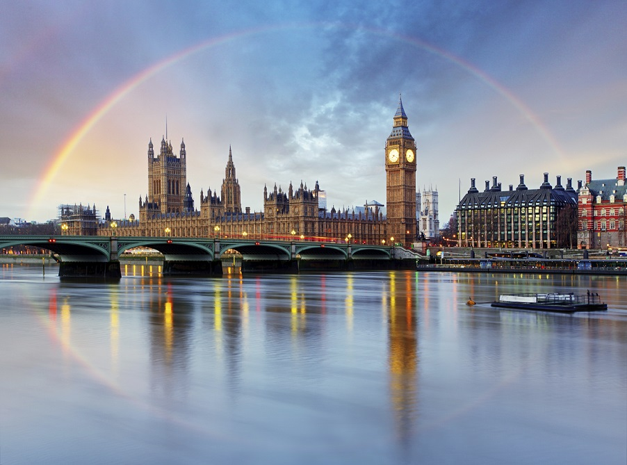 London - famous love story destinations