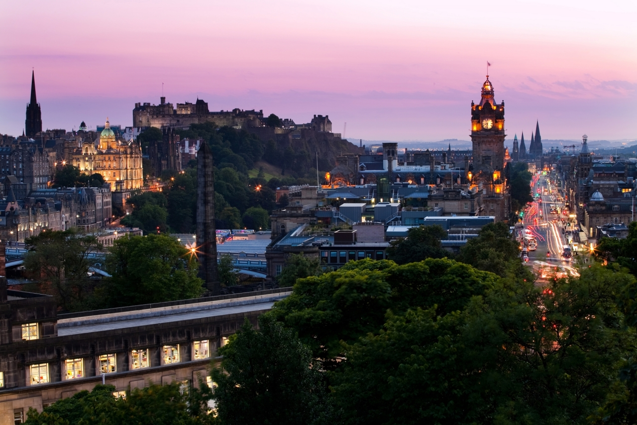 Edinburgh most visited city in the UK