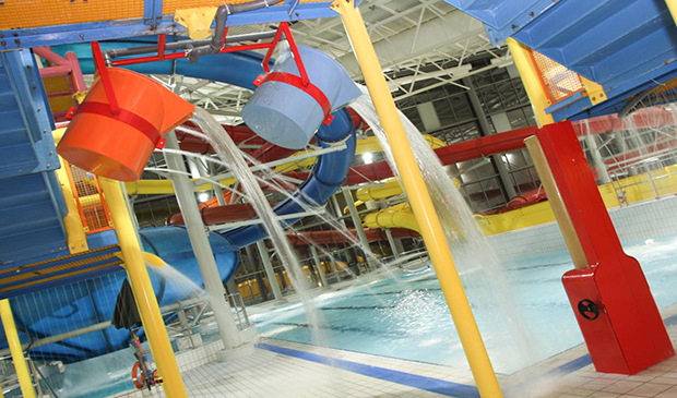 Cardiff with Kids Leisure Pool