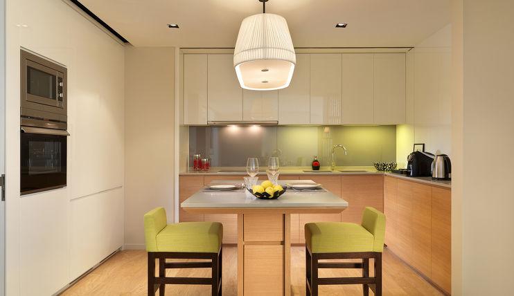 Green Kitchen in Lanson Place Bukit Ceylon Serviced Residences, Kuala Lumpur