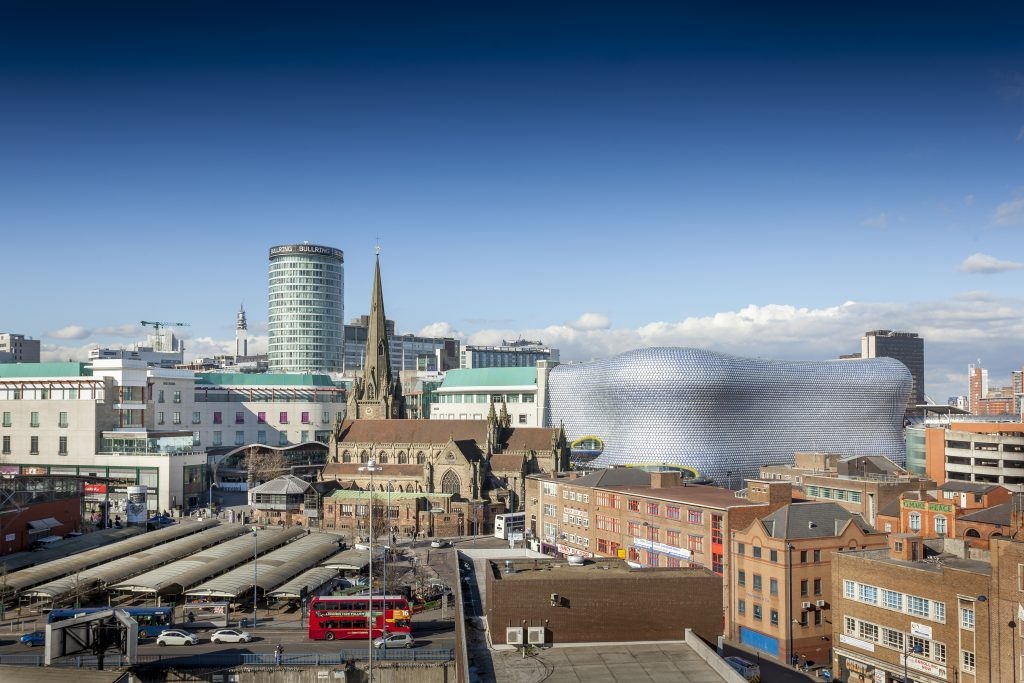 A view of Birmingham