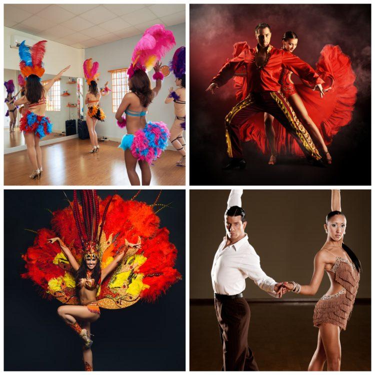 Samba dance origins