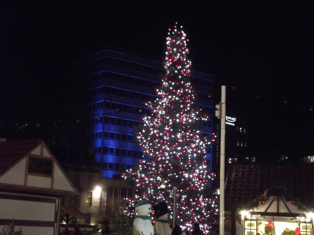 Nottingham Christmas tree