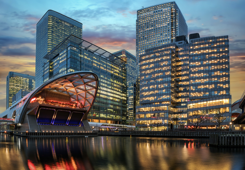 Canary Wharf is a great area of London to stay in.