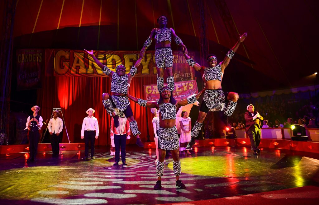 Gandeys Circus Edinburgh Easter Weekend