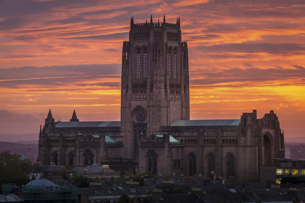 Liverpool Cathedral and Vestey Tower