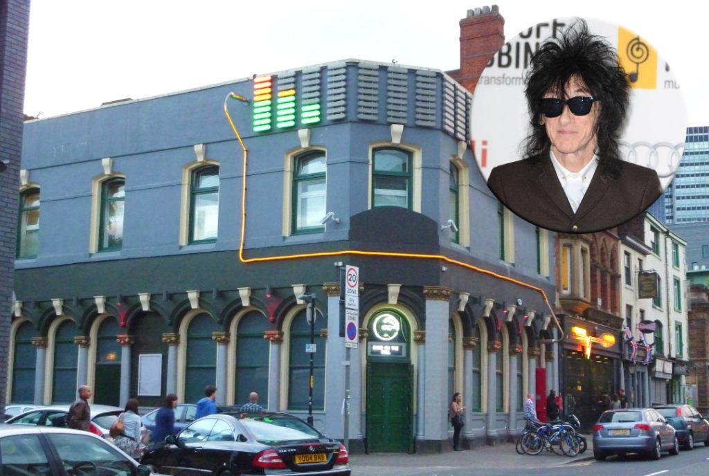 The Band on the Wall pub and John Cooper Clarke