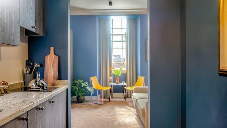 Kitchen/living area - Native Glasgow Apartments