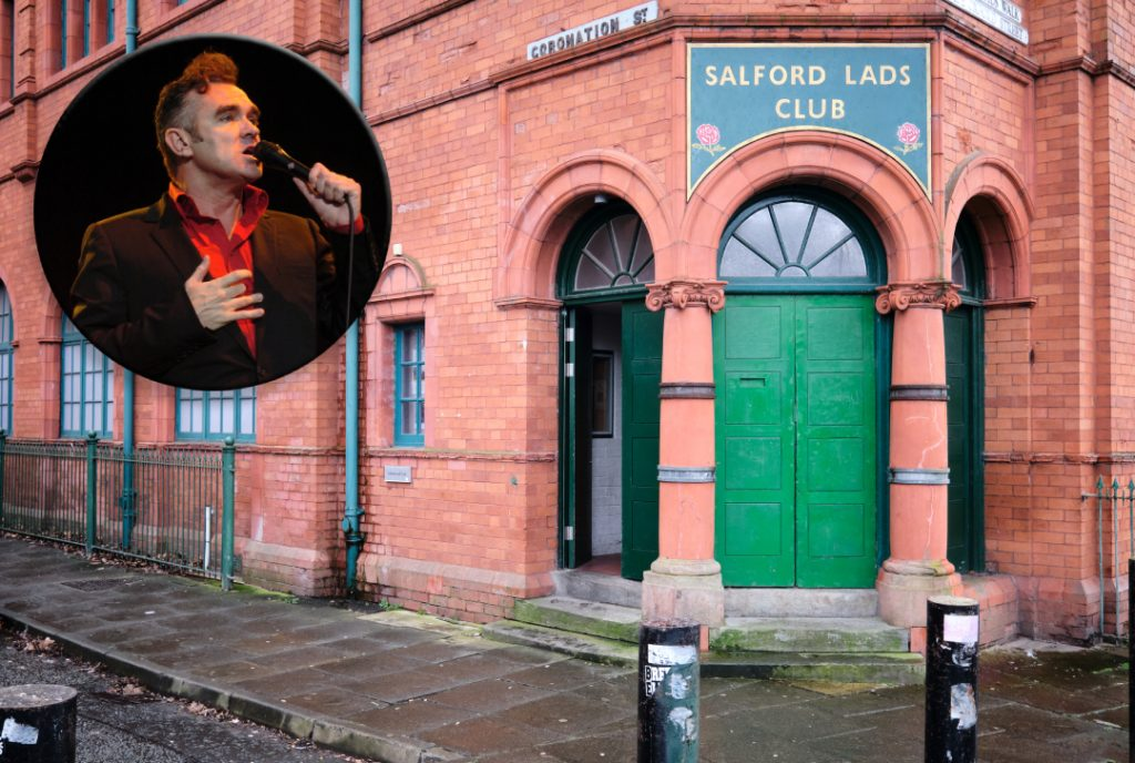 Salford Lads Club and Morrissey