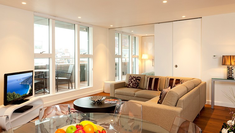 Living room at Saco Covent Garden - St. Martins Apartments