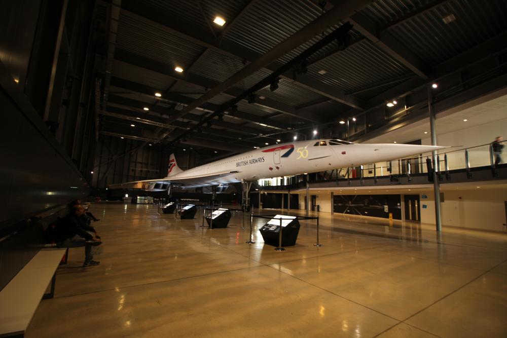 Concorde at Bristol Aerospace
