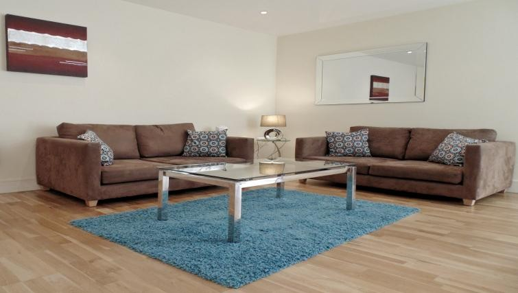 Still Life Southwark apartment living room