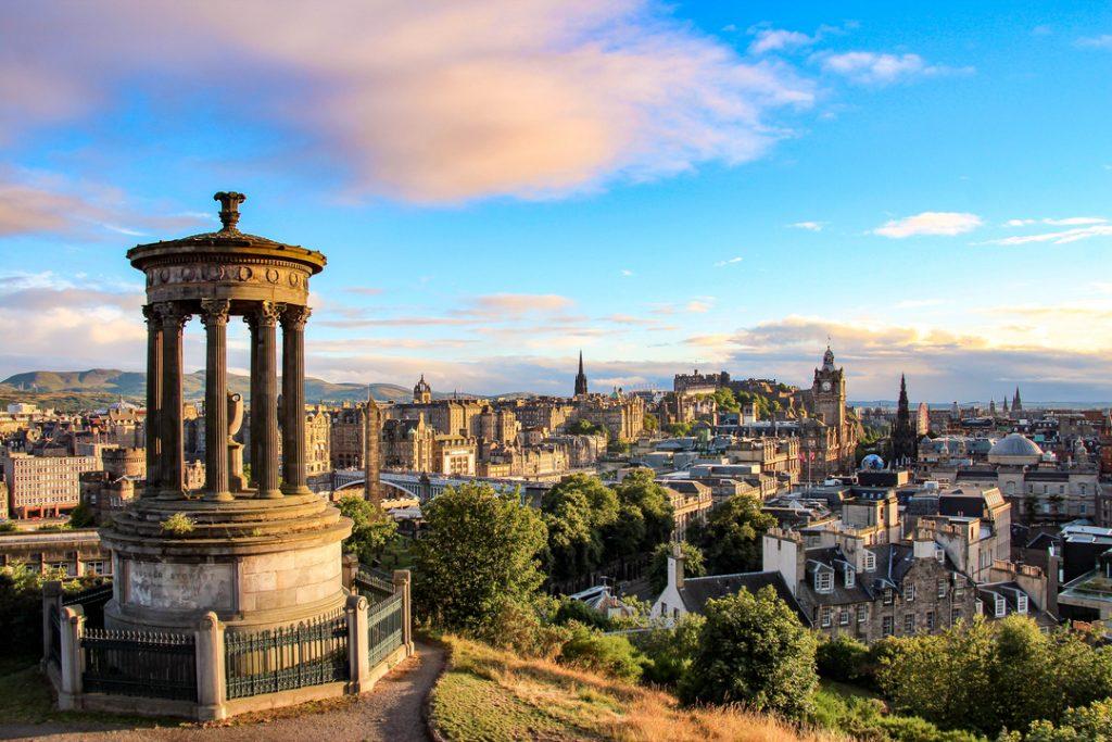 Views across Edinburgh from Caton Hill