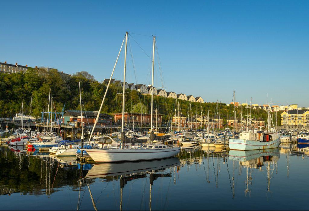 Penarth Marina boats