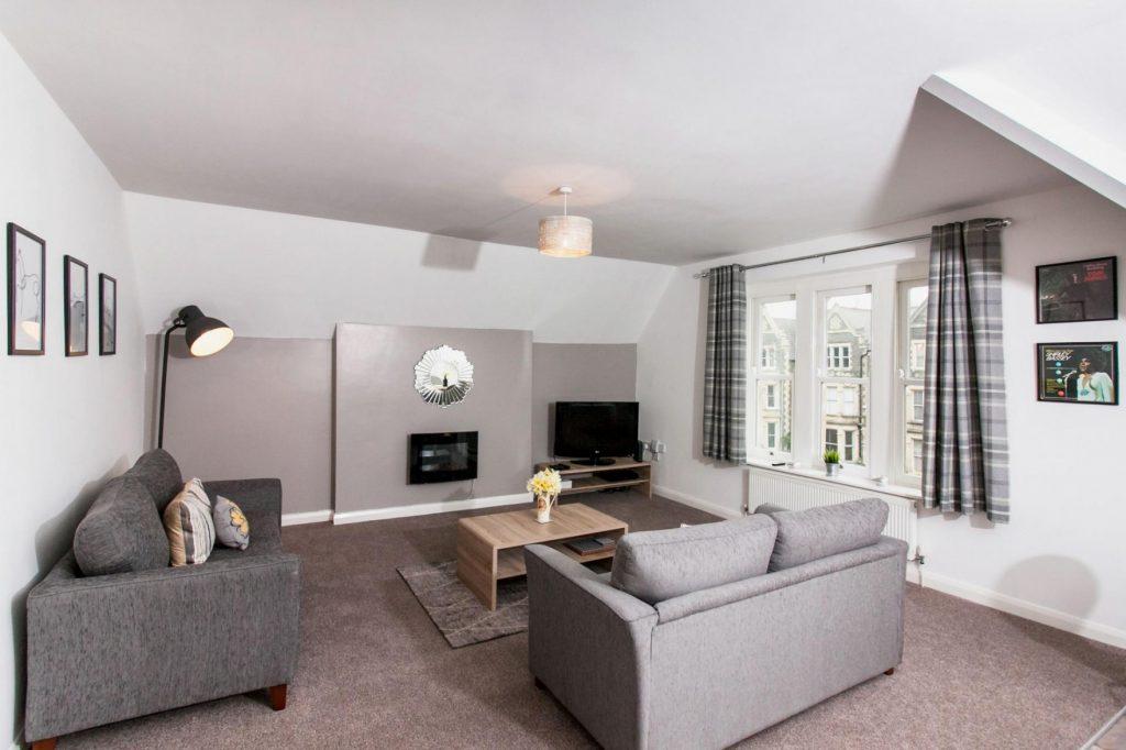 Comfy lounge at Sofia Apartment, Cardiff