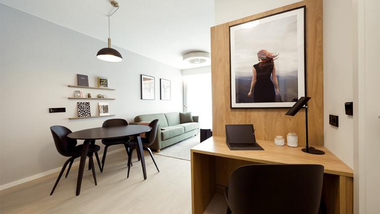 stylish and modern Wilde Apartments in Edinburgh