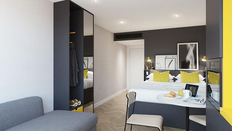 Studios are ideal holiday apartments