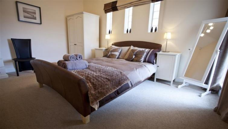 best staycations uk nice apartment bedroom