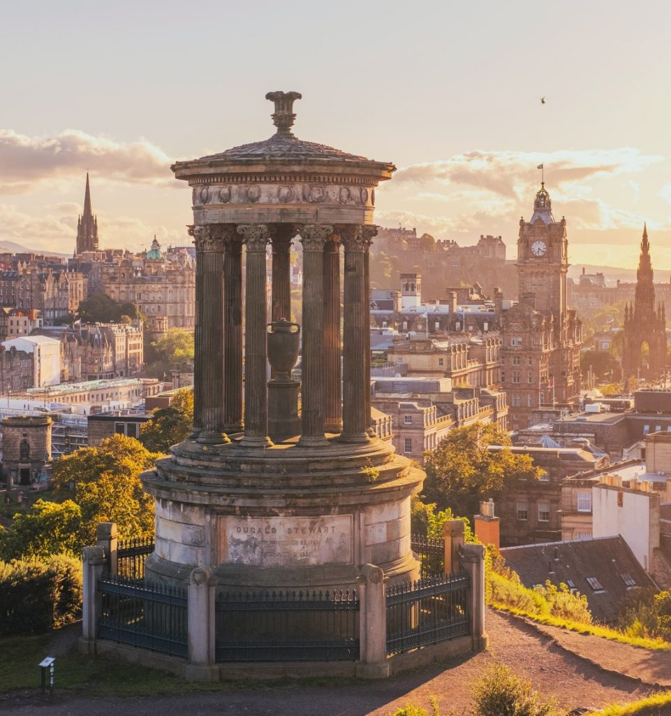 Edinburgh is one of the best staycations UK