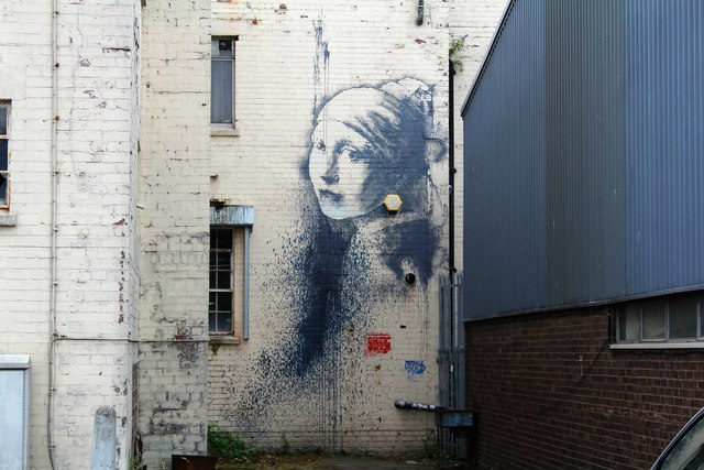 Find where to see Banksy in Bristol - some are hidden in plain sight