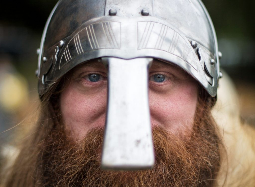 Jorvik Viking man York half term attraction