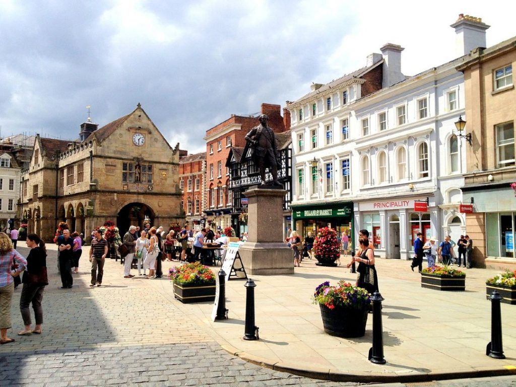 Shrewsbury top day trips fromBirmingham