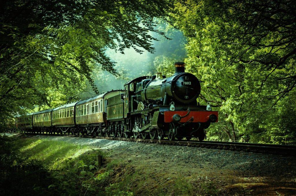 National Railway Museum York Train in forest York half term