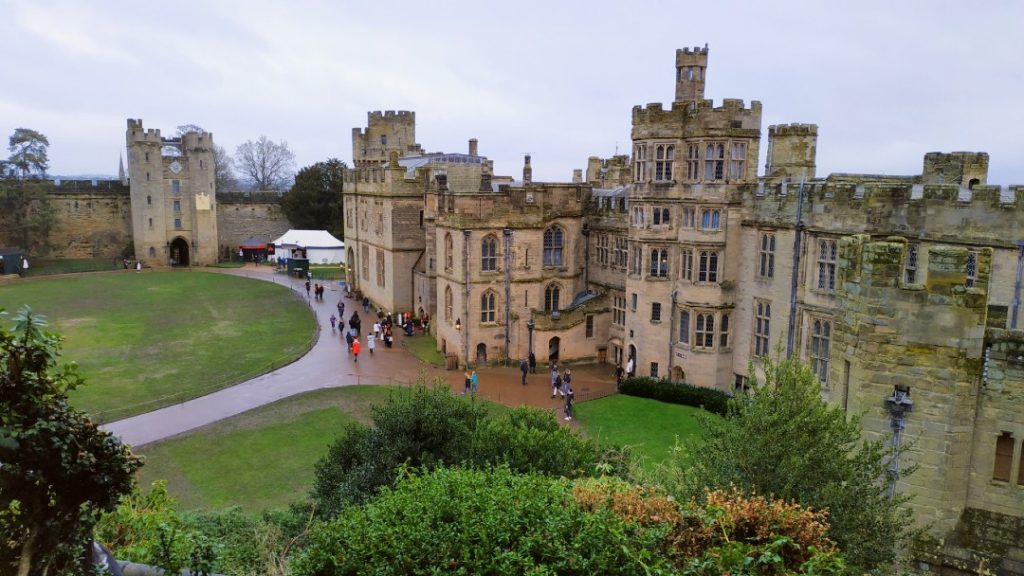 best day trips from Birmingham at Warwick Castle