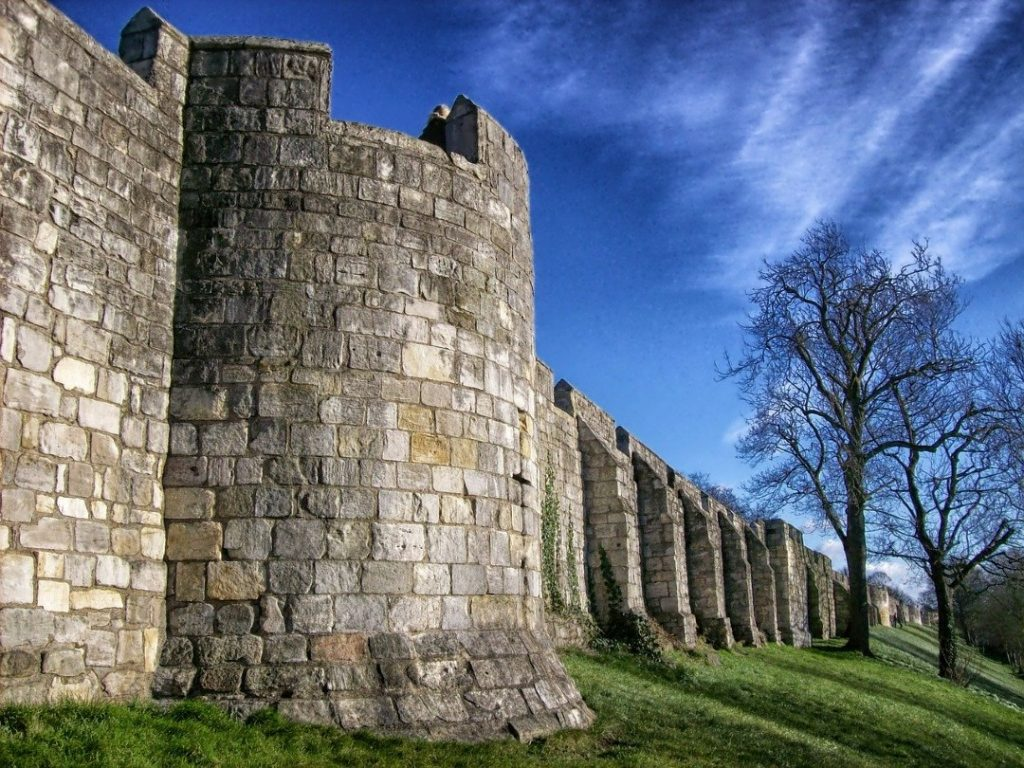 York half term activity city walls walk