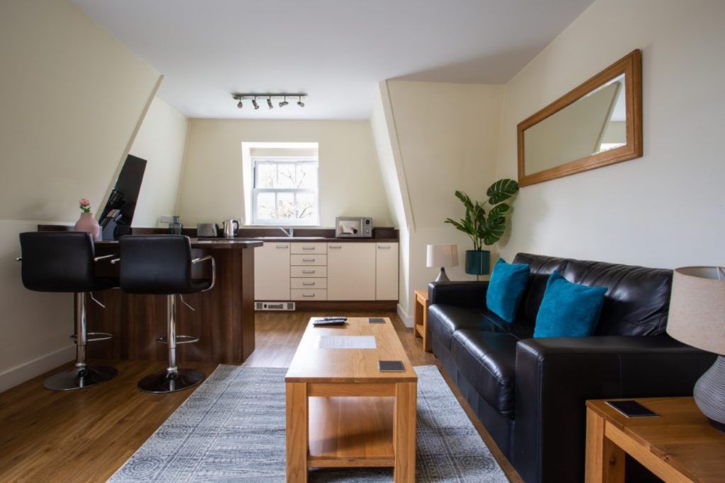 The Exchange Buildings Apartments are contemporary apartments which are the ideal space for hosting and entertaining