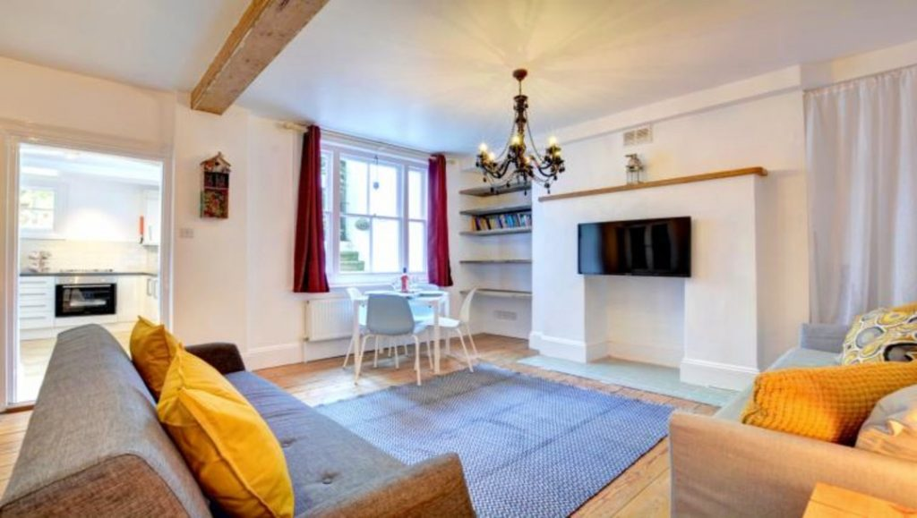 Bright serviced apartments apartment lounge