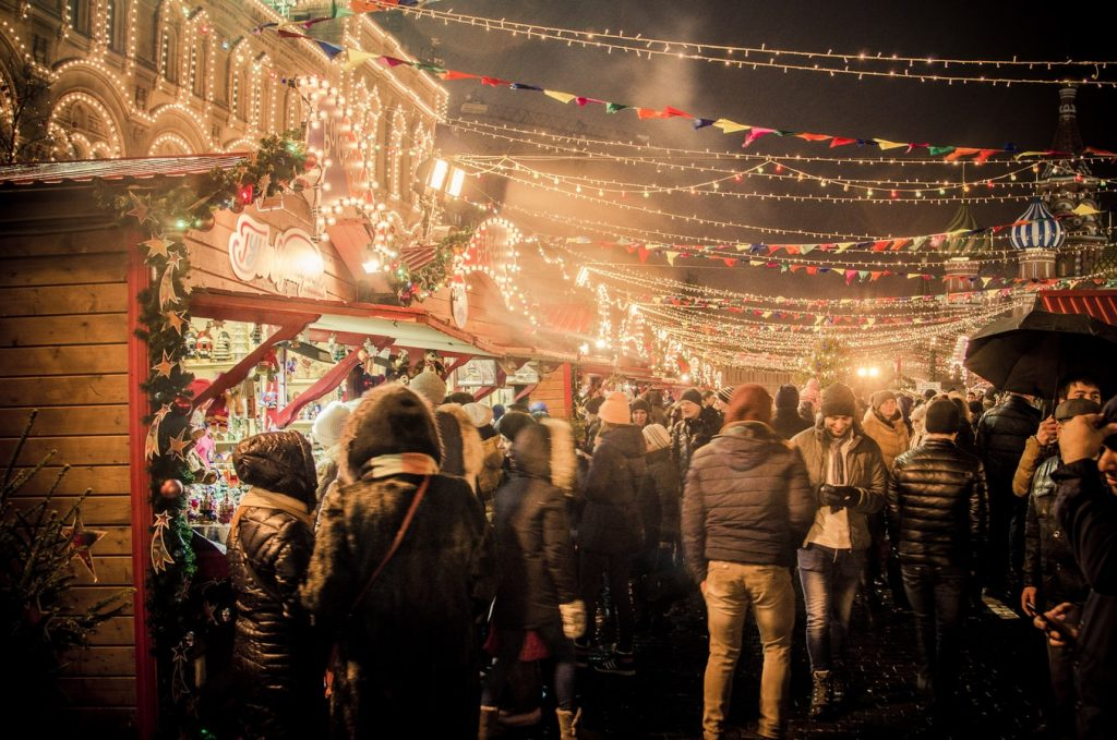 Christmas markets are one of the most festive things to do in York at Christmas