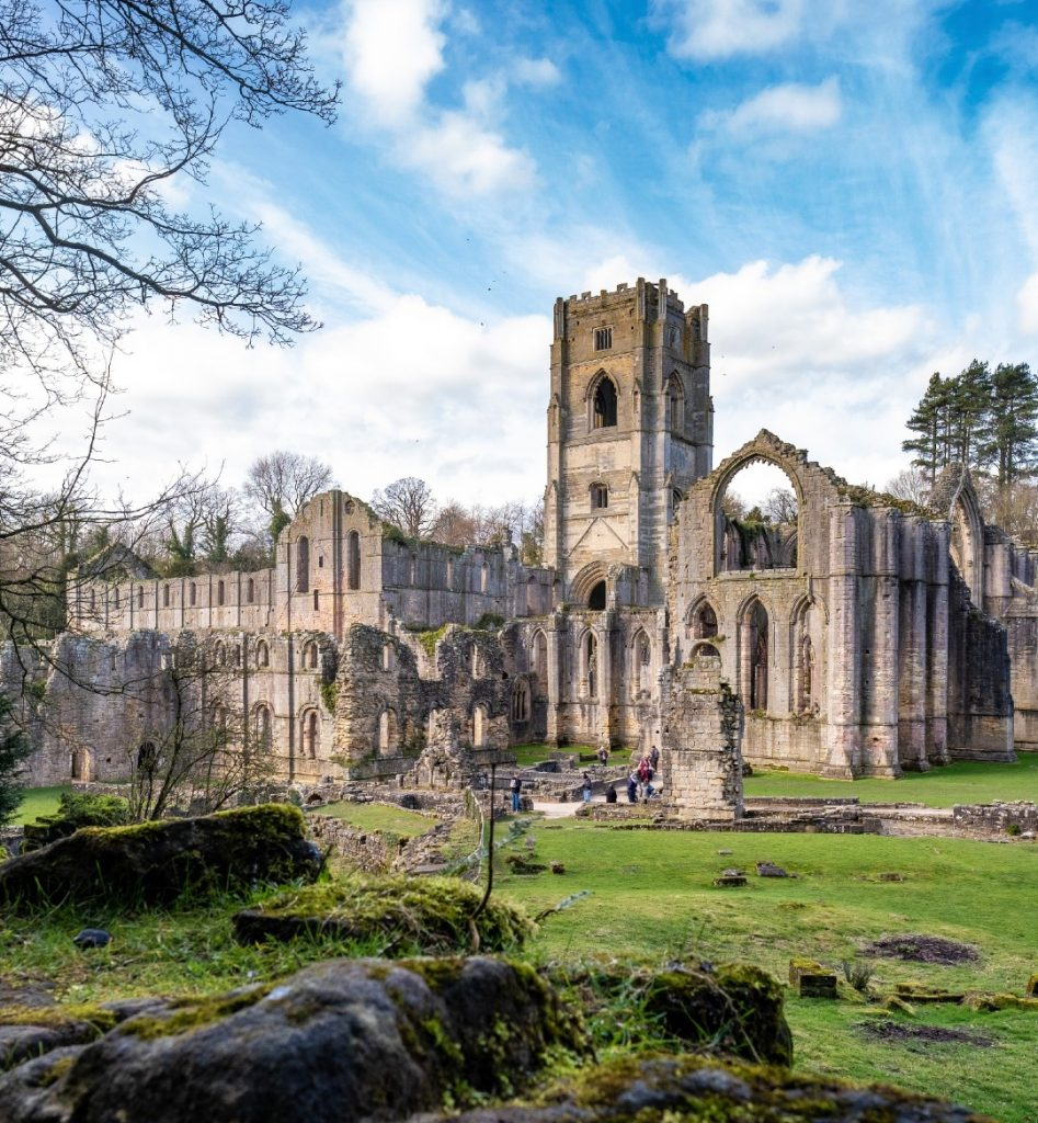 Fountains Abbey day trips from York