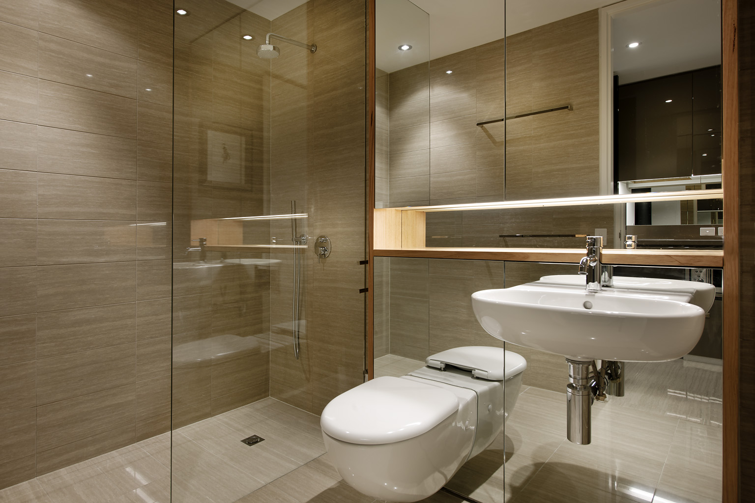 Bathroom at  Fraser Suites Perth - Citybase Apartments