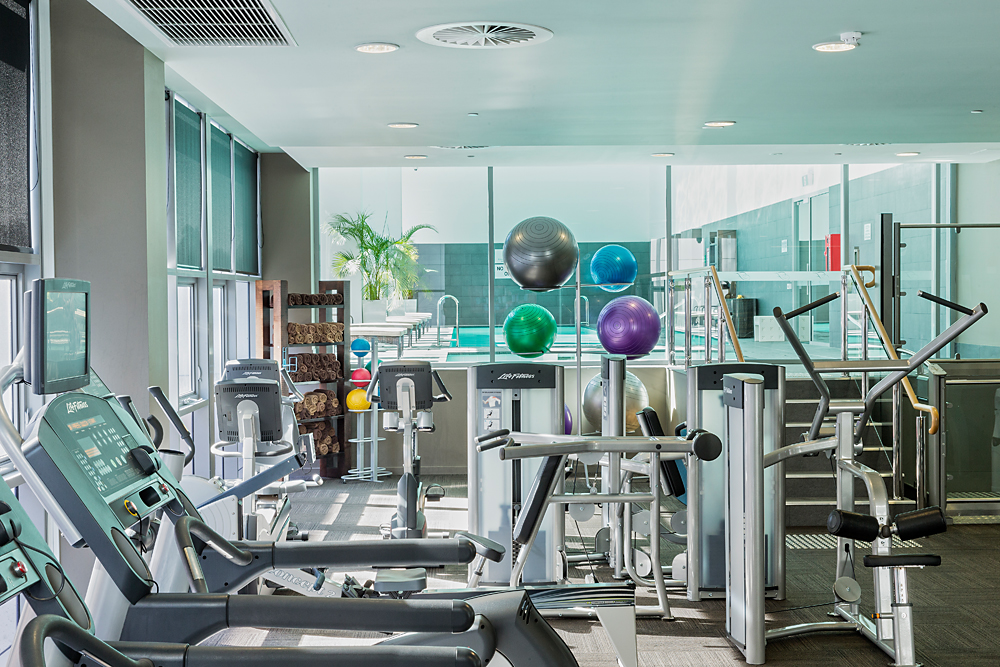 Fitness Centre at Fraser Suites Perth - Citybase Apartments